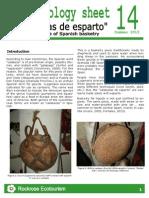 Rockrose-Ethnobiology Sheet 14 Calabazas