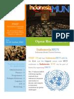Open Recruitment IndonesiaMUN