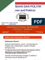 Power and Politics Feby