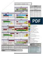 Calendario Academico Uniaraxa 2015
