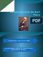La Perspectiva de Karl Marx en torno a la sociedad