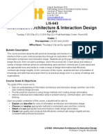 Interaction Design Syllabus Pratt
