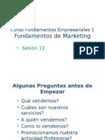 Fundamentos Empresariales_Sesion 12