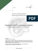 Pancreatite Cronica Alcoolica - Da Fisiopatologia Ao Diagnostico