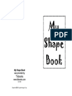 Mini Shape Book