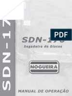 Manual Segadeira de Discos