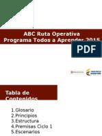 Ruta Operativa PTA