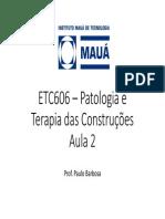 Aula 2 - Etc606