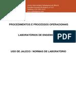 Uso do Jaleco - Engenharia de Produção Anhanguera