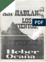 ASI HABLAN LOS VIENTOS - POEMAS - HEBER OCAÑA GRANADOS