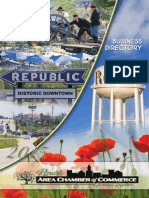 Republic Area Chamber of Commerce Directory