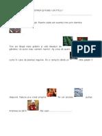 Compunere Cls. a II-A