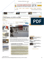 A Brief History of AFSPA in India - Livemint