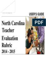 CMS Indicators ForTeacher Evaluation Rubric 2014-15