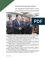 10.12.2013 Comunicado Hoy Inicia Policía de Proximidad Esteban
