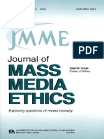 Jay Black, Ralph D. Barney-Codes of Ethics_ a Special Issue of the Journal of Mass Media Ethics (Journal of Mass Media Ethics, Vol 17, No. 2, 2002) (2002) (1)