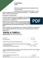 """""""Tabela Complementar de HonorÁrios Dos ServiÇos De"""
