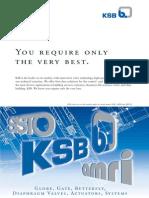 Catalogo General de Valvulas KSB (Aplicaciones )