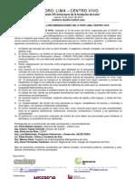 Relatoría II Foro Lima Centro Vivo (14.01.10)