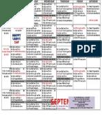 Oxf Sept 2015 Class Schedule