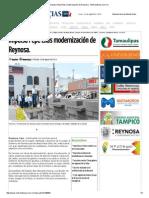 08-29-2015 Impulsa Pepe Elías Modernización de Reynosa