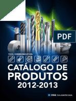 Catalogo Produtos OSG 2012