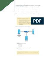 Instalación y Configuración de Bacula en CentOS 7
