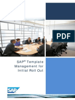 SAP Template Management for Initial Roll Out