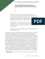 Nuevo Paradigma de Jurisdicción Administrativa Alejandro Vergara