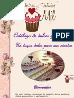 Brochure Postres y Dulces PYDM