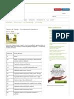 Papeles de Trabajo - Procedimientos Sustantivos