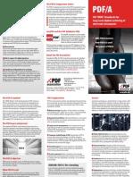 PDFA Advantages