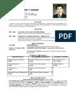 Francisco Maria T. Guison - Resume