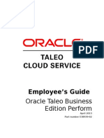 Employee Guide to Taleo Business Edition