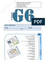 Caderno Pedagógico – Geografia 6º Ano 2.BIM 2012 – ALUNO