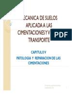 Capitulov Patologia y Reparacion de Las Cimentaciones 2014