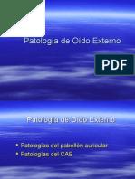 Patologia Oido Externo
