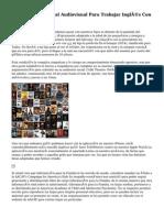 Películas Y Material Audiovisual Para Trabajar Inglés Con Pequeños