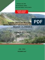 Zonas Criticas Cajamarca