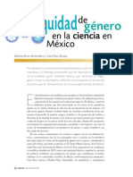 Equidad de Género en La Ciencia en México