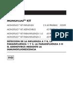 52209-Monofluo Kit Influenza