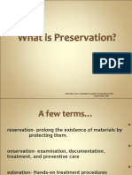 What is Preservation?