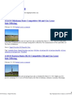 3/2010 - Digital Petrodata BLM STATE MMS Oil Gas Lease Sale Auction 2010 March
