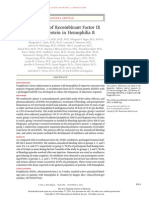 Phase 3 Study of Recombinant Factor IX Fc Fusion Protein in Hemophilia B