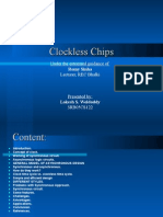 Clockless Chip by rahul rk(9986510206)