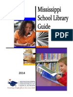 Mississippi School Library Guide 2014 New