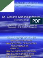 ENFERMEDAD ACIDO PEPTICA Y HELICOBACTER PYLORI.ppt