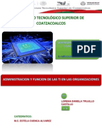 ADMINISTRACION DE LAS TIC