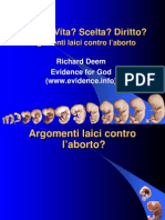 Argomenti laici contro l'aborto