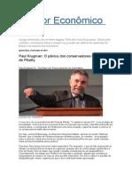 Paul Krugman Comenta Livro de Piketty